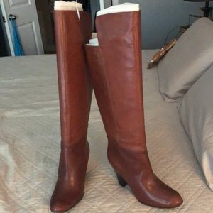 Nine West above knee leather boots